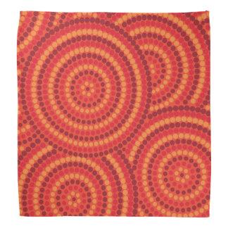 Aboriginal pricka målning bandana
