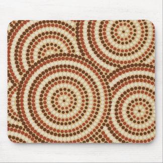 Aboriginal pricka målning musmatta