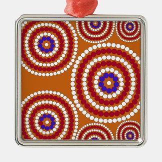 Aboriginal upplaga julgransprydnad metall