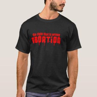 abort t-shirts