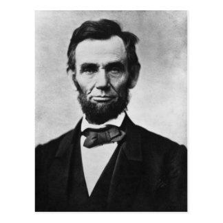 Abraham Lincoln 8 Vykort