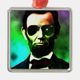 Abraham Lincoln Julgransprydnad Metall