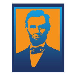 Abraham Lincoln popkonst Vykort