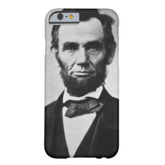 Abraham Lincoln porträtt Barely There iPhone 6 Fodral