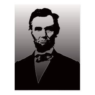 Abraham Lincoln porträtt Vykort