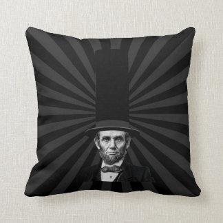 Abraham Lincoln presidents- modepåstående Kudde