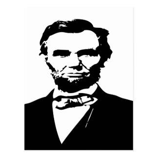 Abraham Lincoln Vykort