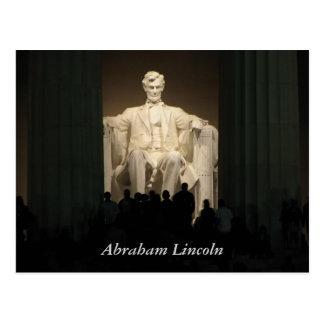 Abraham Lincoln washington DC Vykort
