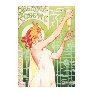 Absinthe Robette Canvastryck
