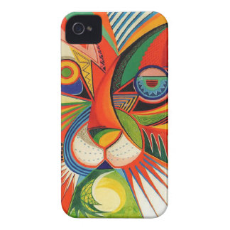Absract katt iPhone 4 Case-Mate fodraler