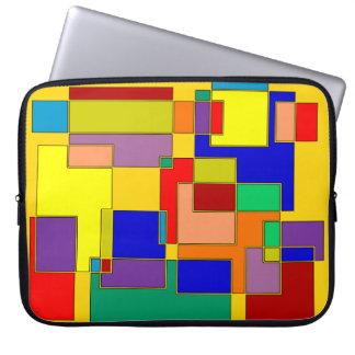 Abstrakt #26 laptop sleeve
