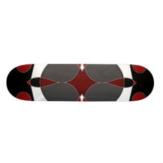 Abstrakt #588 skateboard bräda 20 cm