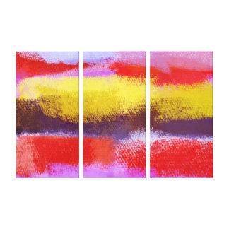 Abstrakt abstrakt målning för konst | canvastryck