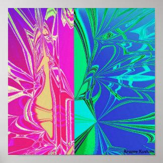 abstrakt affischer