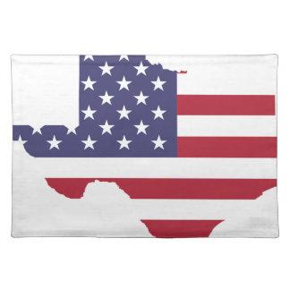 Abstrakt Amerika konst Texas Bordstablett