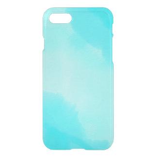 Abstrakt Aquavattenfärg iPhone 7 Skal
