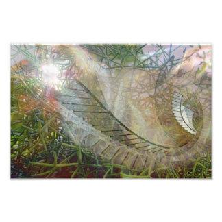 Abstrakt av naturen konstfoto