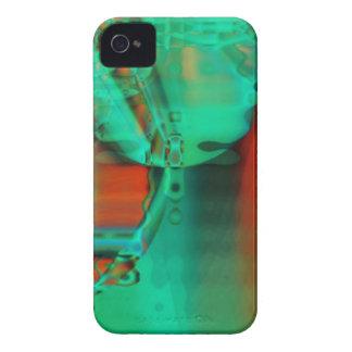 Abstrakt blackberry boldfodral iPhone 4 Case-Mate skal