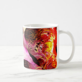 Abstrakt blåklocka för perfektion 5 kaffemugg