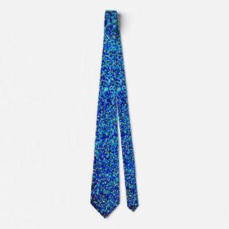 Abstrakt blått slips