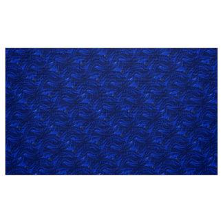 Abstrakt blått virvlar runt mönster
