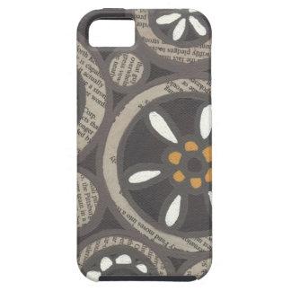 Abstrakt blom- Collageiphone case iPhone 5 Case-Mate Fodraler