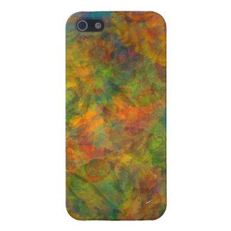 Abstrakt blom- fodral för CollageiPhone 5 iPhone 5 Fodraler
