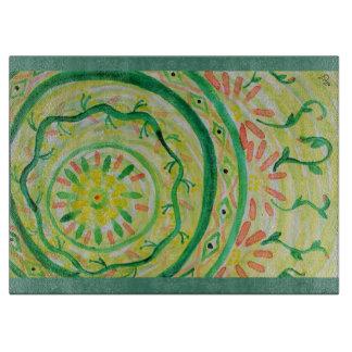 Abstrakt blom- mandala