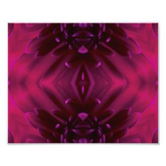 Abstrakt blommigt för lilor fotokonst
