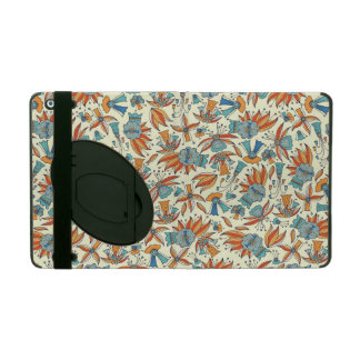 Abstrakt blommönsterdesign iPad hud