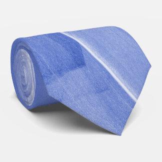 Abstrakt Borsta-slår i ljust - blått Slips