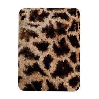 Abstrakt Cheetah Magnet