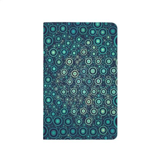 Abstrakt cirklar anteckningsbok