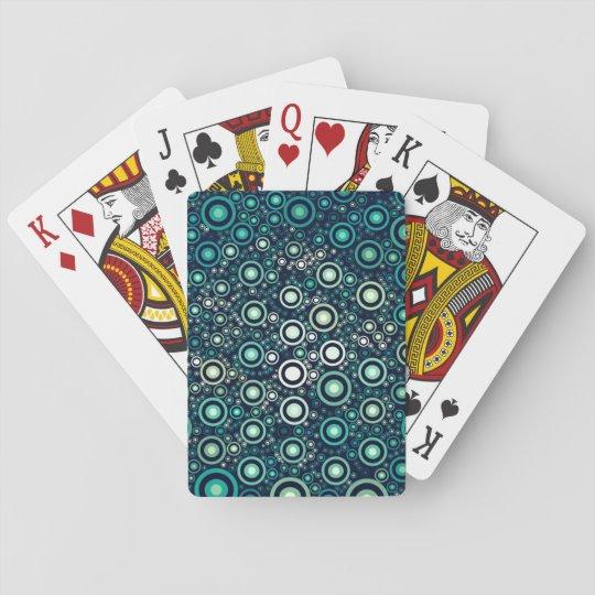 Abstrakt cirklar casinokort