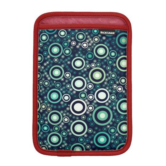 Abstrakt cirklar sleeve för iPad mini