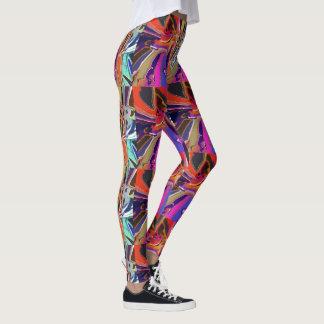 Abstrakt clownabstrakt leggings