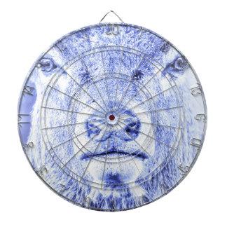Abstrakt Dartboard för bur för blåtthjortmetall Piltavla