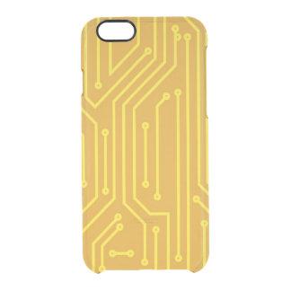 Abstrakt datorutrustning clear iPhone 6/6S skal