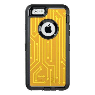 Abstrakt datorutrustning OtterBox defender iPhone skal