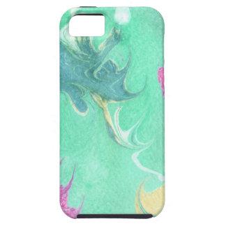 Abstrakt design från original- målning iPhone 5 Case-Mate cases
