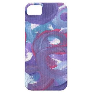 Abstrakt design från original- målning iPhone 5 cover