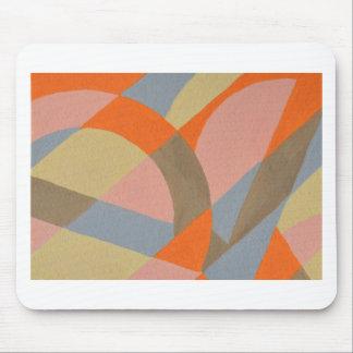 Abstrakt design från original- målning musmatta