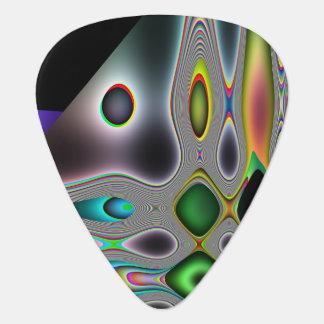Abstrakt design gitarr plektrum