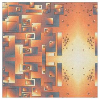 Abstrakt design i blandningfärg tyg
