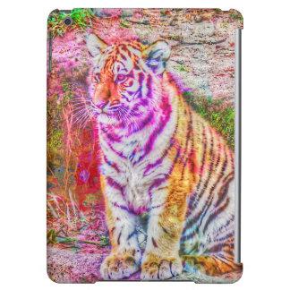 Abstrakt Djur-målad ung tiger