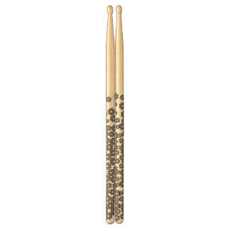 abstrakt drumsticks trumpinnar