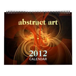 Abstrakt (enorm) konstkonstkalender 2012, kalender