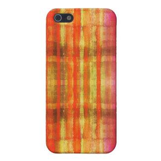 Abstrakt färgkonstrandar iPhone 5 skal
