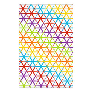 Abstrakt färgrik bakgrund brevpapper