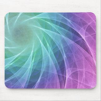 Abstrakt färgrik bubbelpooldiamant mus mattor